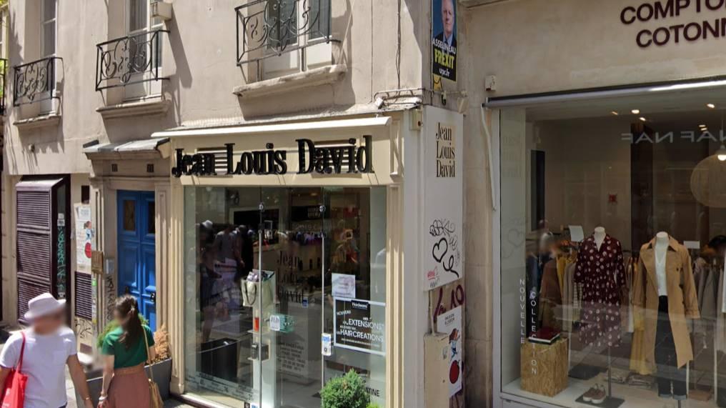 Jean Louis David cover