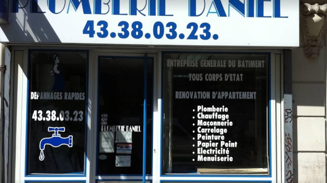 Plomberie Daniel cover