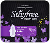 Stayfree Ultra Thin All Night Wing 10