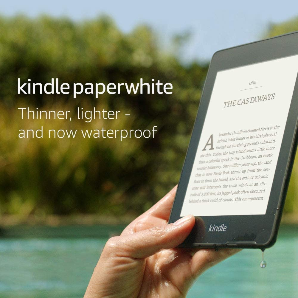 Kindle – Now with a built-in front light (8GB)