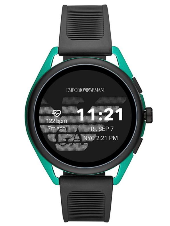 Emporio Armani Gen 5 Black & Green Display Smartwatch ART5023