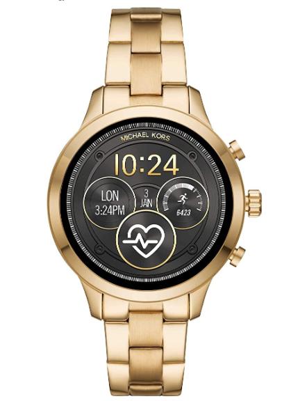 Michael Kors Women's Quartz Smartwatch smart Display, MKT5045