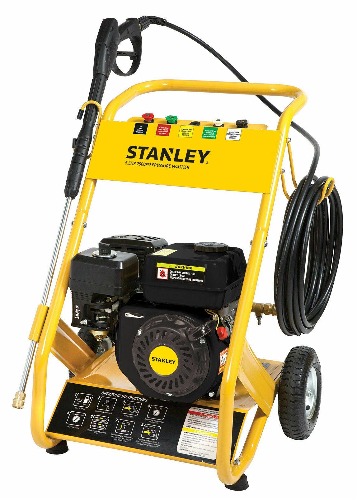 [Price Error] Stanley Petrol Pressure Washer - 5.5HP, 2500 PSI