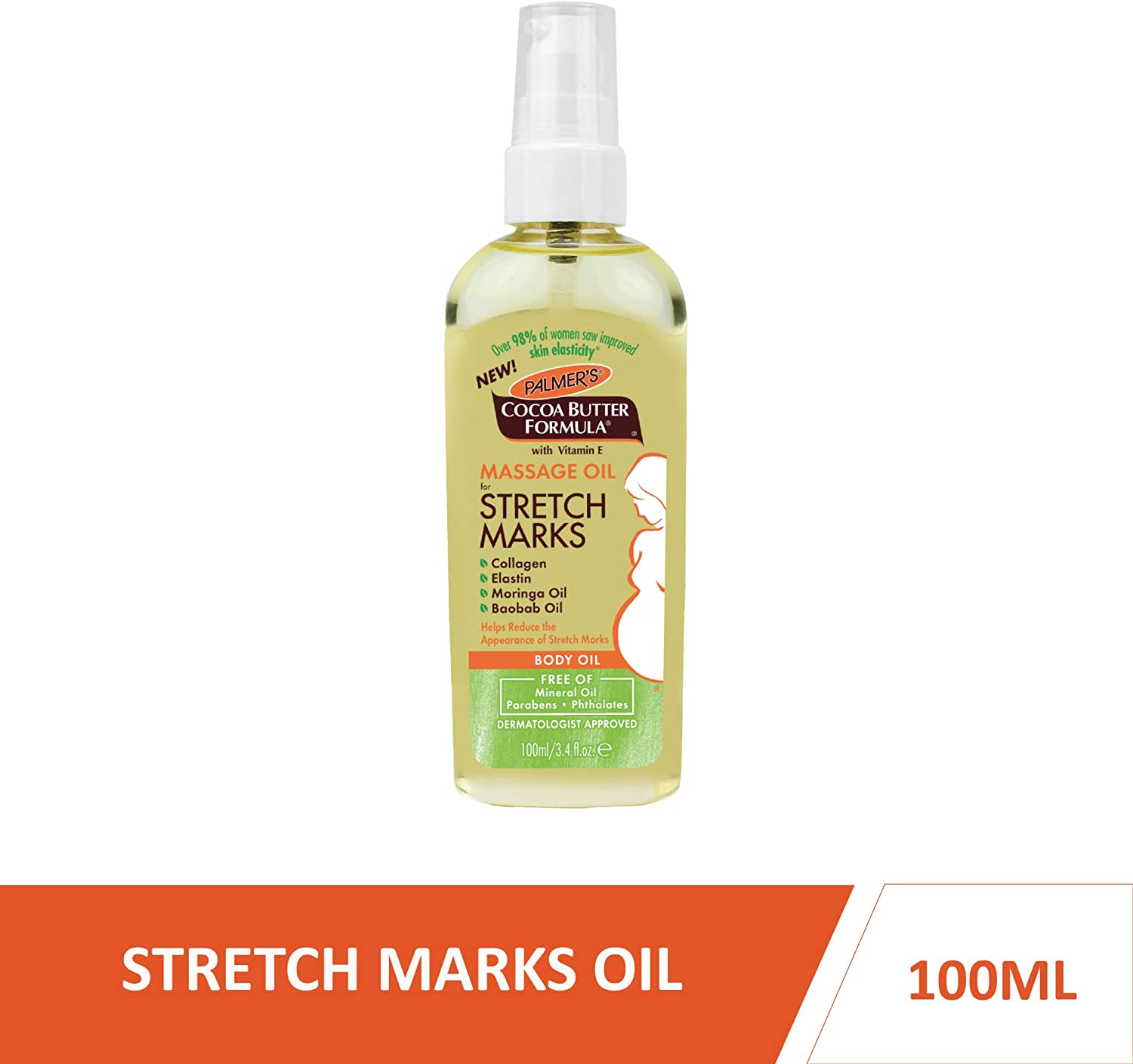 PALMER'S Cocoa Butter Formula Massage Oil for Stretch Marks, 100ml