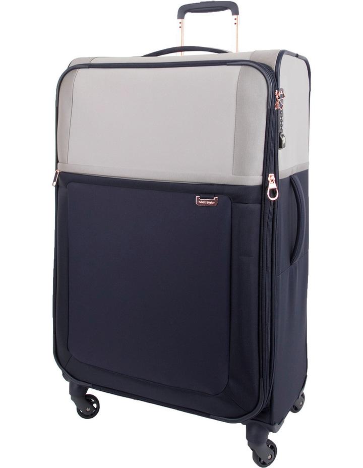 Samsonite: Uplite Large 78cm Softside Spinner Suitcase - Pearl/BlueUplite
