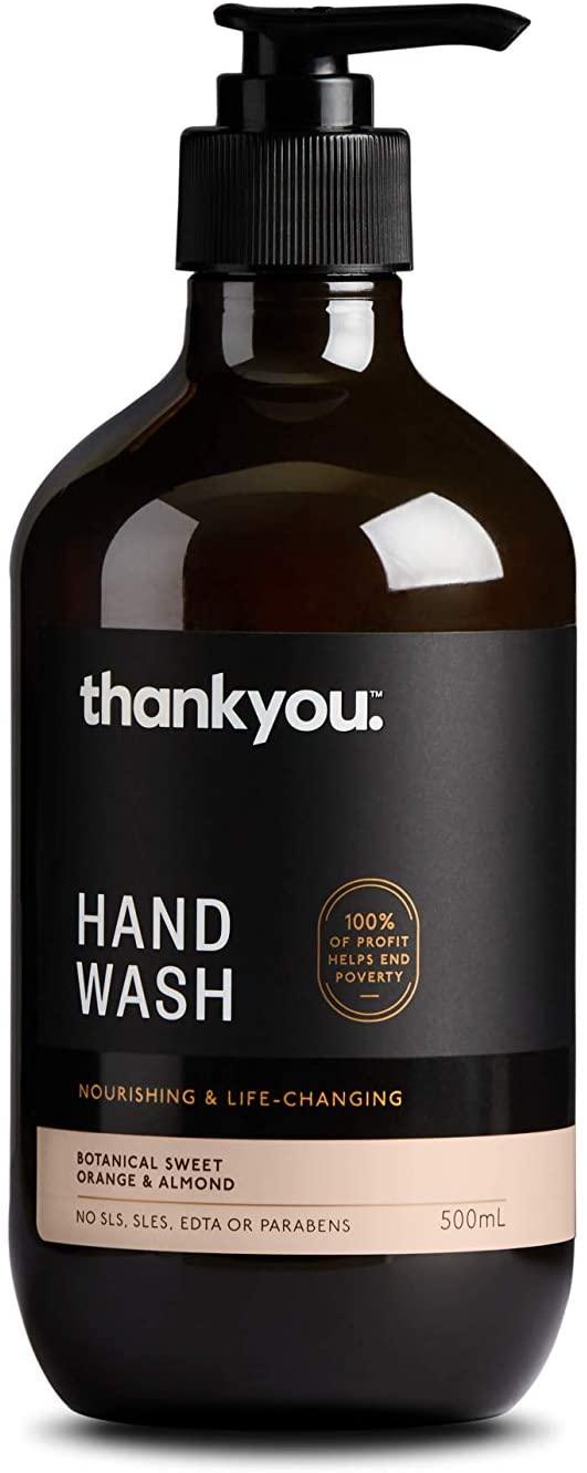 Thankyou Hand Wash Botanical Sweet Orange & Almond - Nourishing (500mL)
