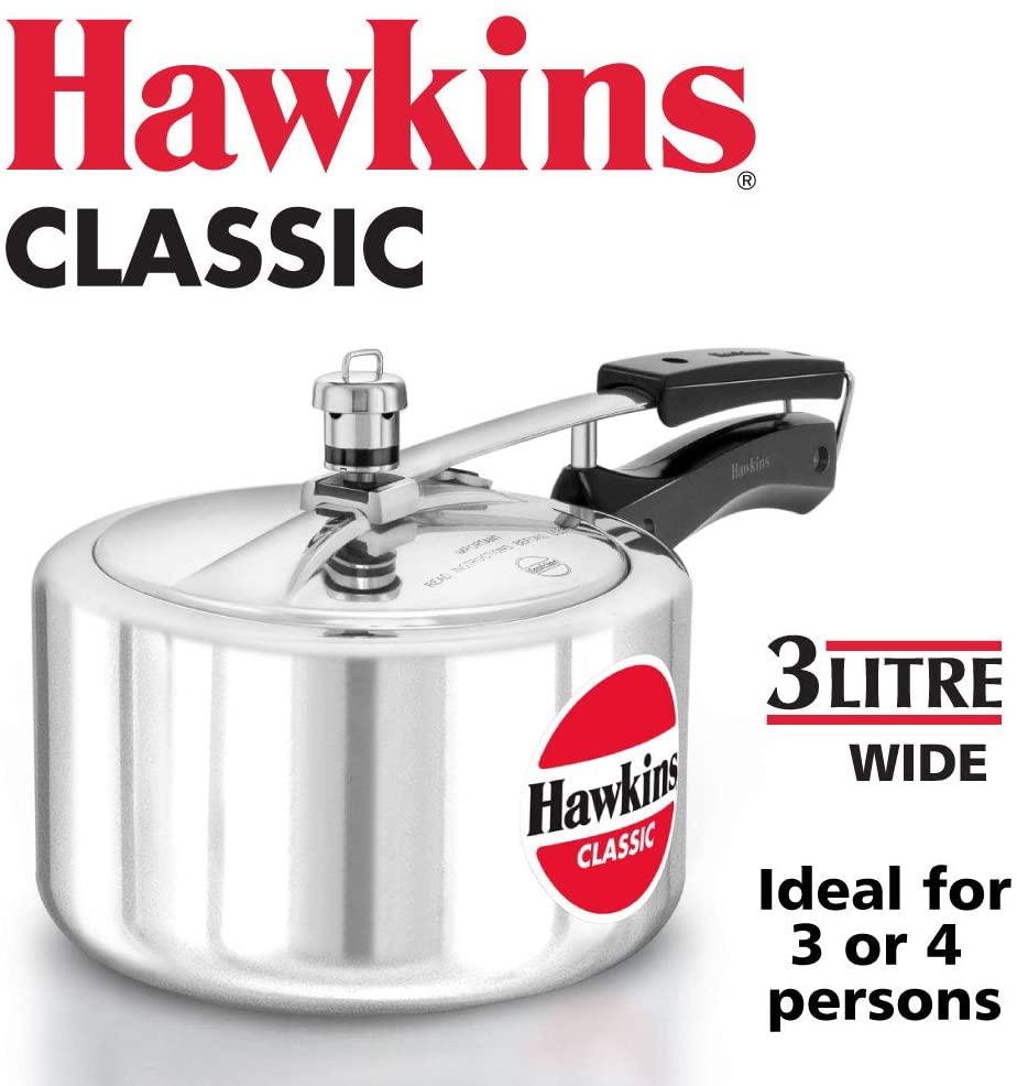 HAWKIN Classic CL3W 3L Aluminum Pressure Cooker