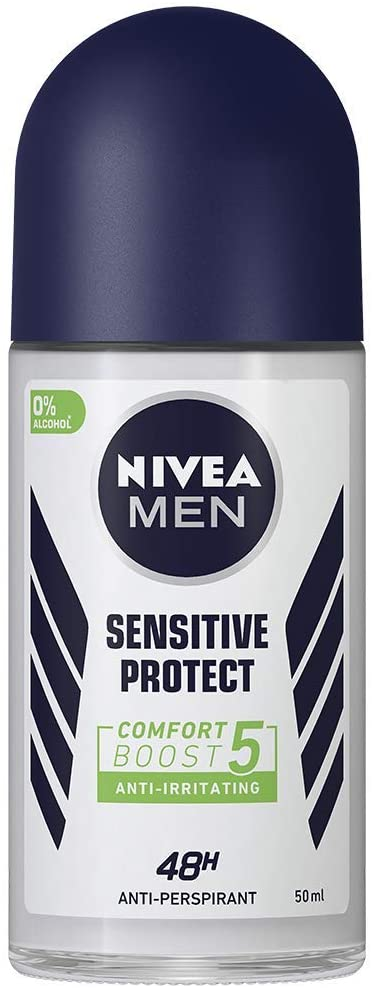 NIVEA MEN Sensitive Protect Roll On Anti-Perspirant Deodorant 50ml