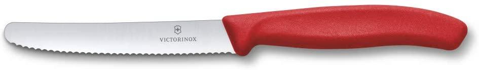 Victorinox Swiss Classic Steak&Tomato Knife, Red