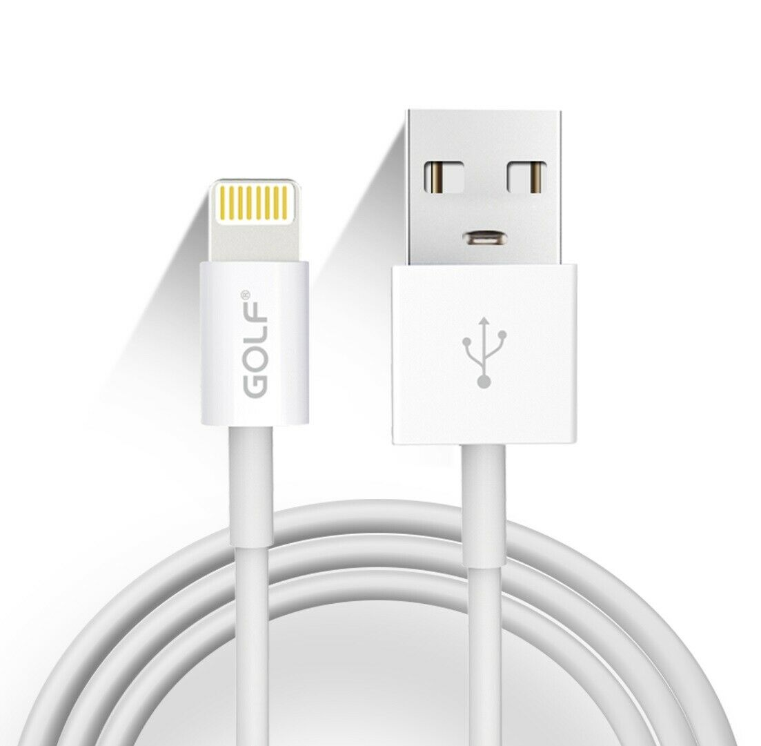 GOLF GC-30 1m Lightning To USB Charging Data Cable for iphone, $3.95 (was $19.95) Delivered @ edragan_australia via eBay