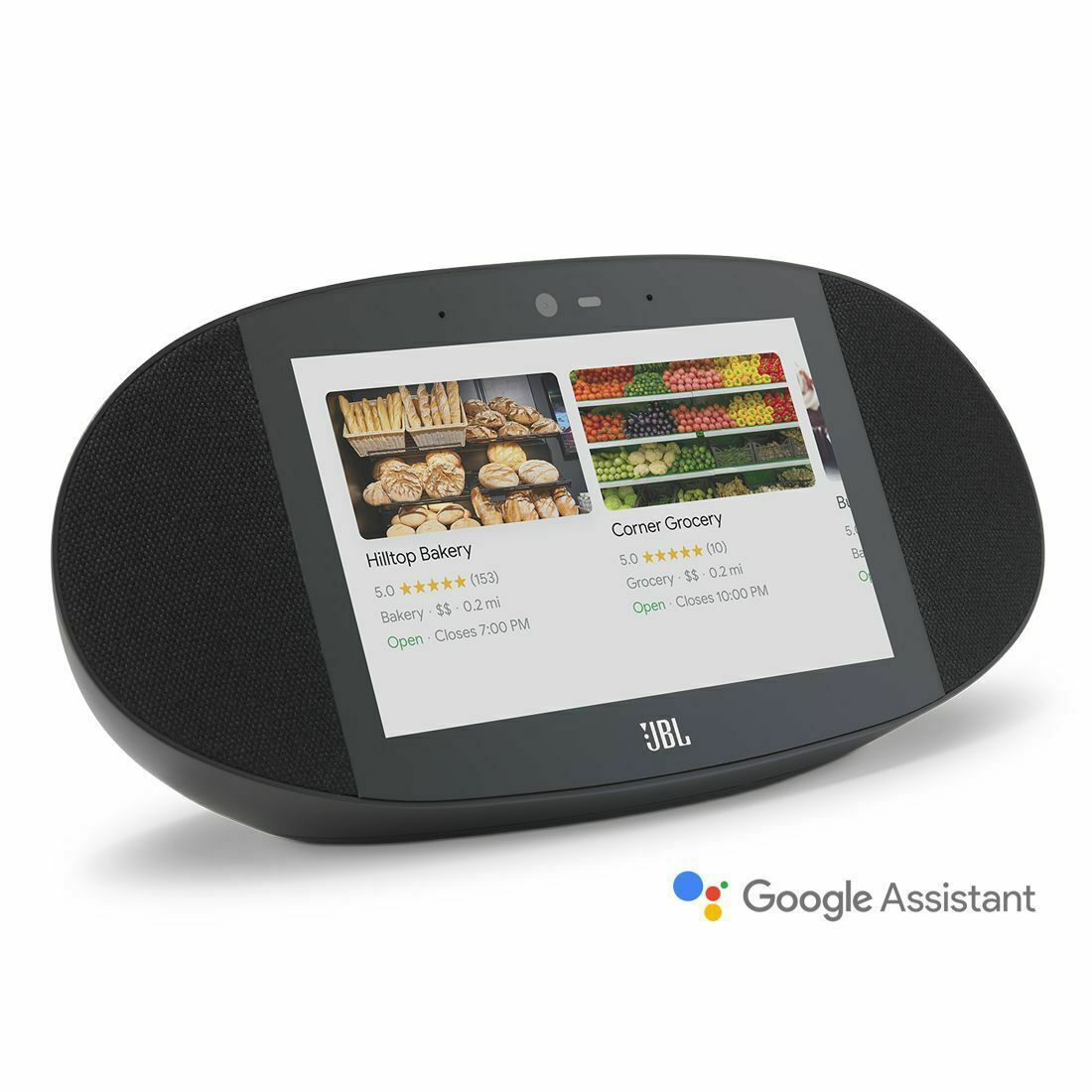 [Additional 15% off] JBL Link View Screen Speaker with Google Assistant - Black [Au Stock]