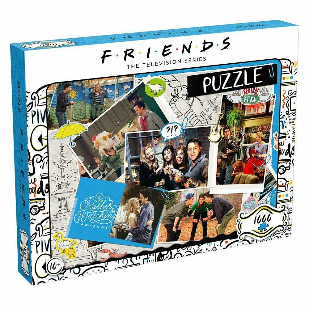 [eBay DailyDeals] Friends Scrapbook 1000 Piece Jigsaw Puzzle