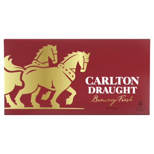 [eBayPlus - Daily deals] Carlton Draught Beer 24 x 375mL Bottles (800 units) NSW, VIC & ACT only