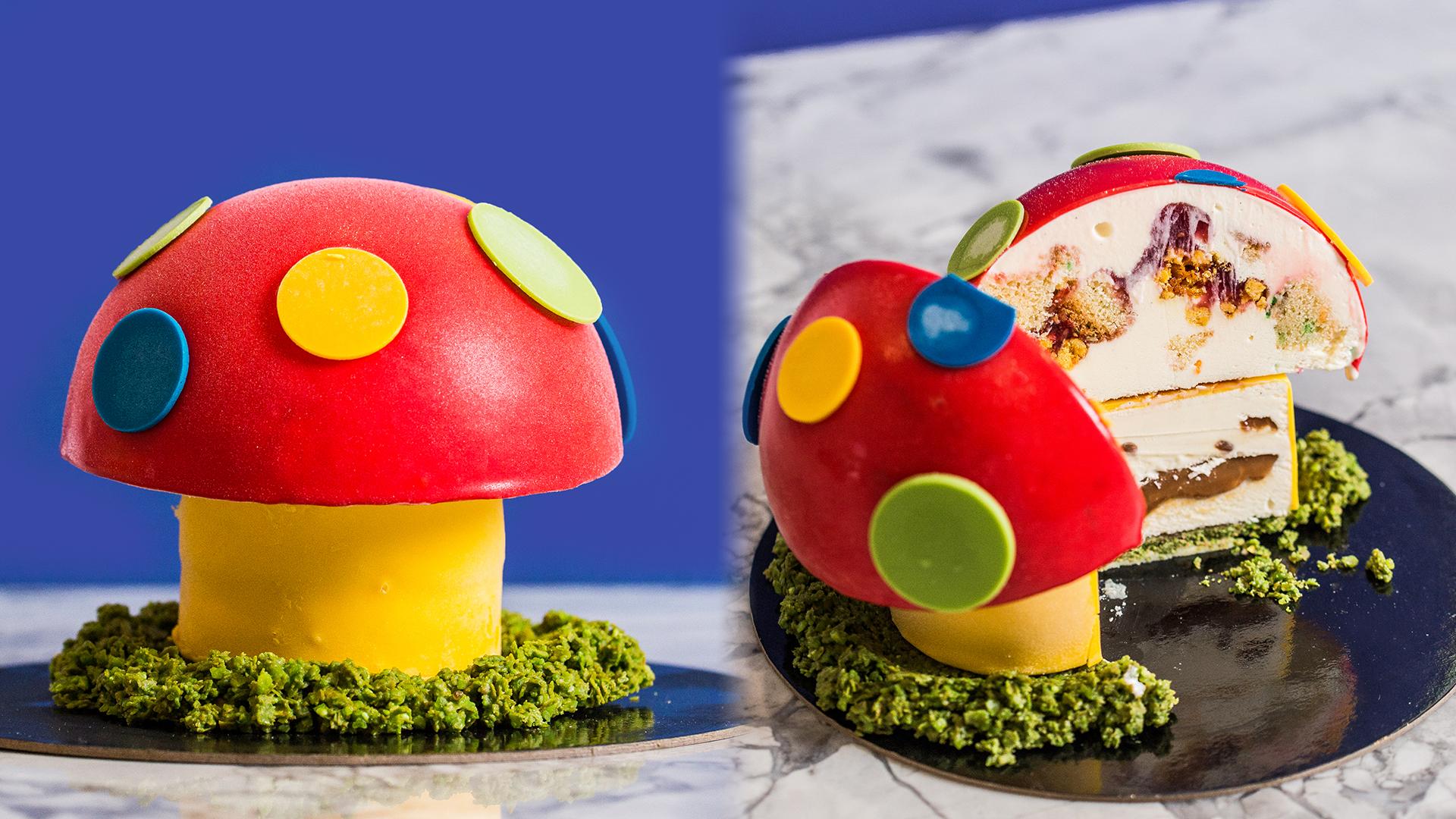 [Live] eBay Plus - Gelatto Messina Dr Evil Magic Mushroom Cake