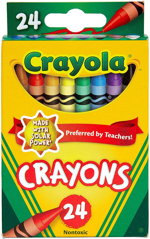 Regular Crayon Crayola Regular Crayon 24 Pack