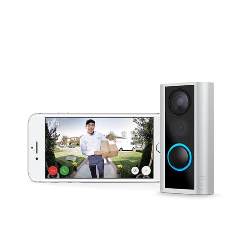 Ring DoorView Cam Smart Video Doorbell HD