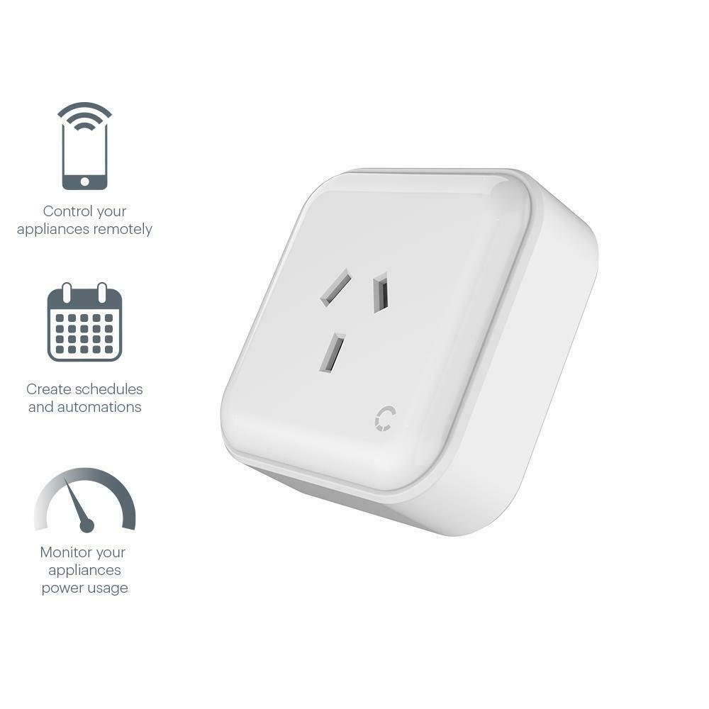 Cygnett Smart Wi-Fi Plug 10A Power monitoring