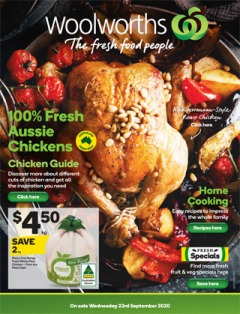 Woolworths Weekly - Half Price Specials (Starts on 23rd - Wednesday)