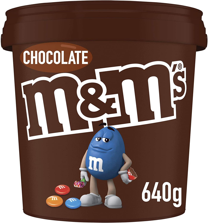 M&M's Milk Chocolate Party Size Bucket 640g