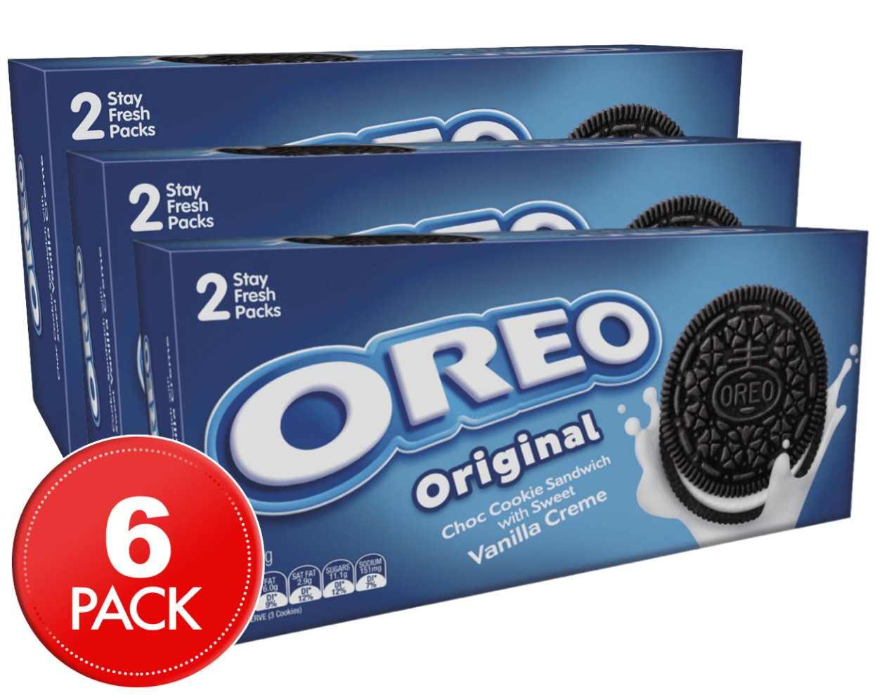 6 Oreo Cookie Original 274g
