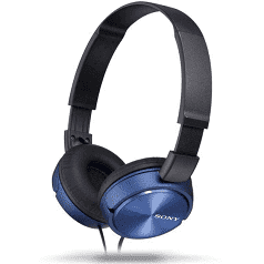 Sony On Ear Headphones Blue/Red, $49 (was $79) @ The Good Guys