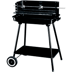 Steel Charcoal Bbq Meat Grill Barbeque with wheels Outdoor Camping, $42 (was $79) Delivered @ superhobbystore eBay