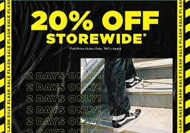 Flash Sale 20% off Storewide @ Platypus [Ends tomorrow]