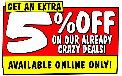 Five Day Price Madness + Extra 5% off sitewide (Exclusions Apply) @ JB Hi-Fi [Online only]
