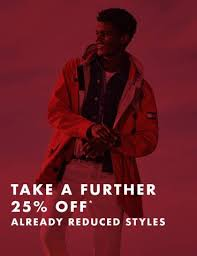 Take a Further 25% off on already reduced styles @ Tommy Hilfiger