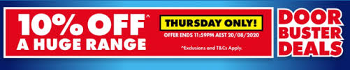 [Ends Tonight] 10% off storewide @ The Good Guys [Exclusions Apply]