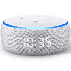 Amazon Echo Dot with Clock (3rd Gen), $59 (was $99) Free C&C or $4.99 Delivery @ JB Hi-Fi