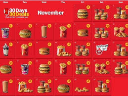 McDonald's 30 Days 30 Deals is back this November! Here is the Full List.