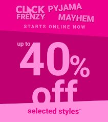 The online Pyjama Click Frenzy | Up to 40% off over 160 styles @ Peter Alexander