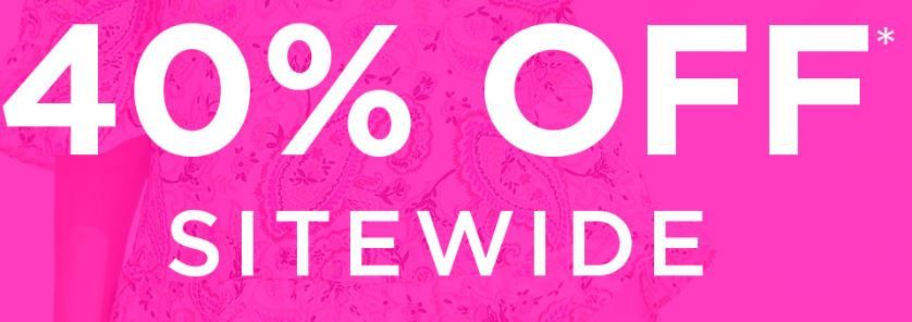 Shopping Frenzy - 40% off Sitewide @ W.Lane