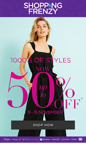 Shopping Frenzy - 1000s of Styles now up to 50% off  @ Katies [9-13 Nov 2020]