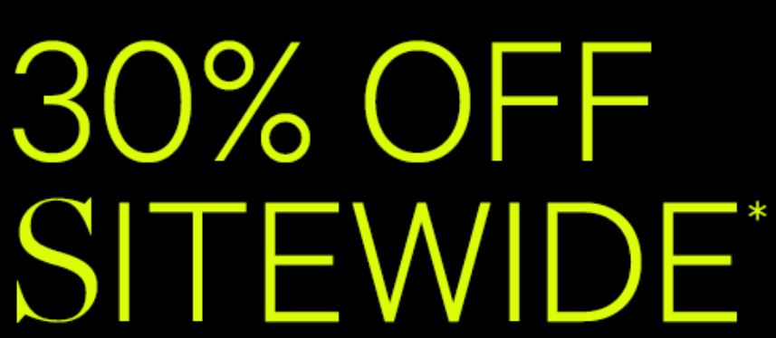 Online Exclusive - 30% off sitewide @ Supre