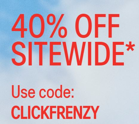Click Frenzy | 40% off Storewide including sale items @ Calvin Klein
