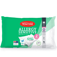 Tontine T2891 Allergy Sensitive Pillow Duo Pack Medium, $12 (was $30) Delivered with Prime @ Amazon AU