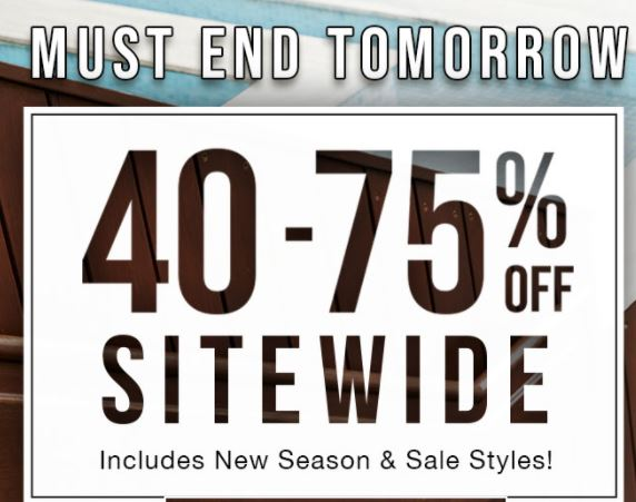 Online Exclusive - 40 - 75% off Storewide @ Tarocash | Shirts from $14.99; Polos from $29.99; Shoes from $39.99 & more