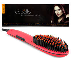 Cabello Glow Hair Straightening Brush - Red, $39 (was $129) Delivered @ mybeautyshop eBay