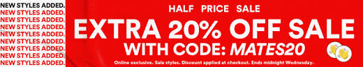 Further 20% off Sale Items (Free Shipping on $60 spend) @ Cotton On