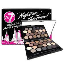 W7 Night on the Town! 22 Eye Shadow, $3 (was $15) @ Chemist Warehouse