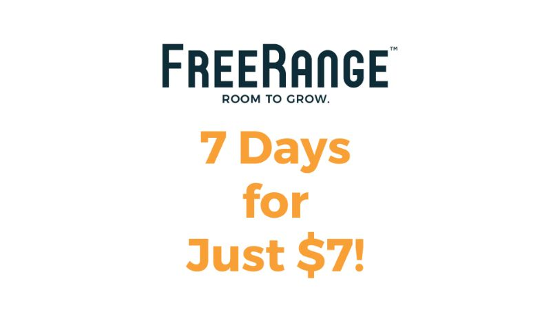 7 Days of Coworking for $7!