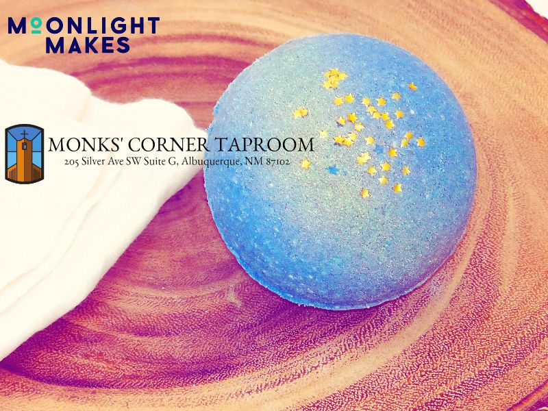 Starry Night Bath Bombs at Monks Corner