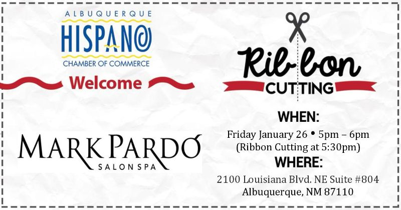 """AHCC Welcomes """"Mark Pardo"""" Ribbon Cutting & Networking"""