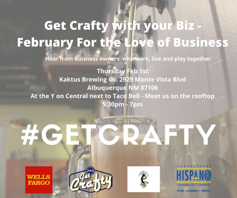 Get Crafty w/ Your Biz – February for the Love of Business