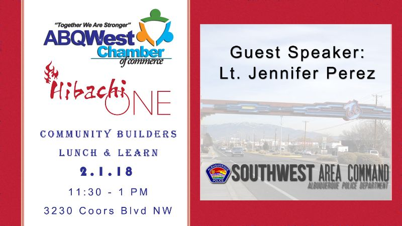 ABQWest Community Builders Lunch & Learn
