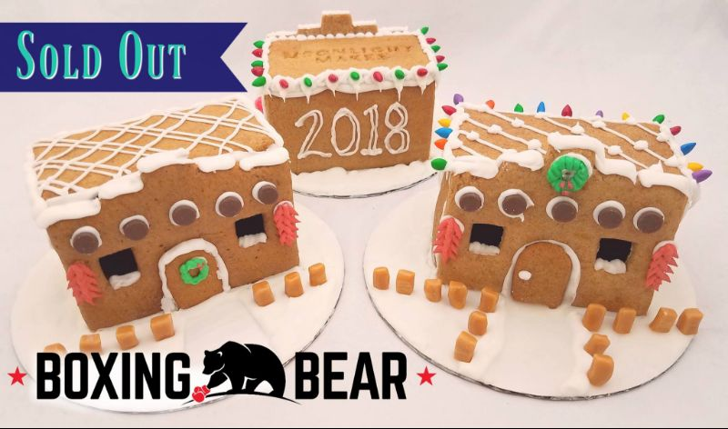 Build Your Own Adobe Gingerbread House @ Boxing Bear