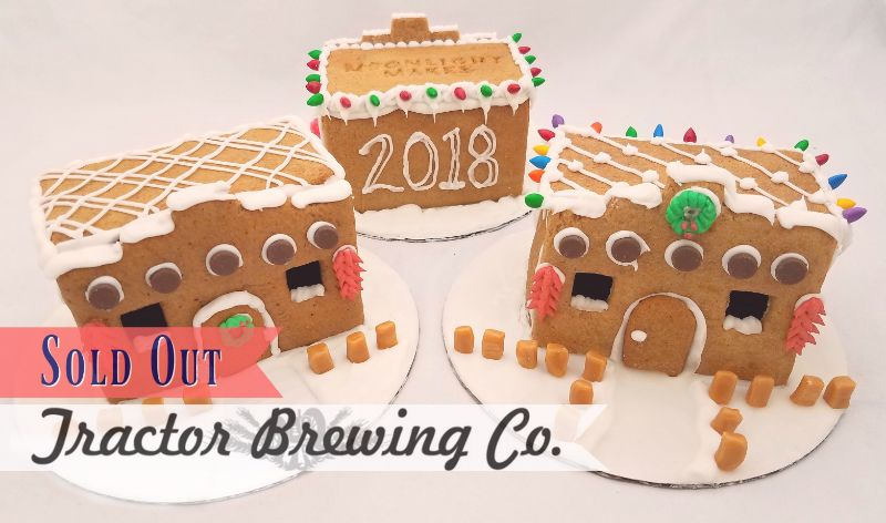 Build Your Own Adobe Gingerbread House @ Tractor Four Hills (6:00 pm)