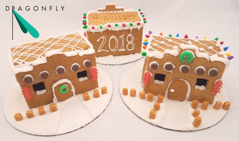 Build Your Own Adobe Gingerbread House @ Dragonfly Las Cruces